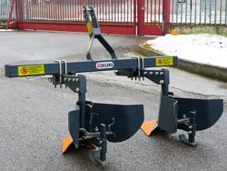mounted ridger for tractor da 140