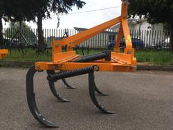 cultivator with 5 tynes 120cm wide for tractors like kubota iseki mod de 120 5