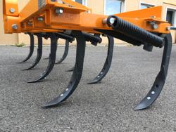 cultivator 215cm tiller with springs for soil preparation mod de 215 9 v