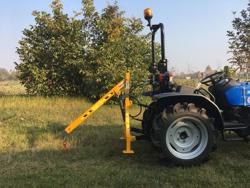hydraulic crane for small tractors el 200