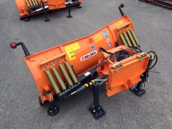 snowblade with plate for tractor ln 175 a