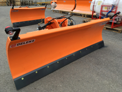 snowblade with plate for tractor ln 220 a