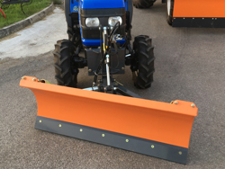snowplough with plate for tractor lns 150 a