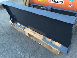 light snow plow for skid steer loaders lns 130 m