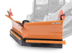 snowplough for up to 3 0 ton skid steer loaders lnv 250 m