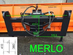 snowplough for telehandlers merlo ssh 04 3 0 merlo