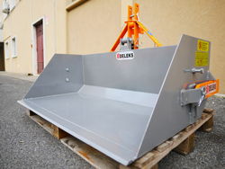 tipping transportbox for tractor prm 120 l
