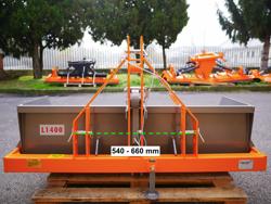 hydraulic transport box for tractor pri 140 l