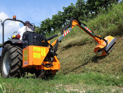 tractor mounted hedge cutter airone 100