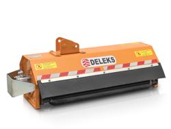 forestry mulcher of 100cm for mini excavators hydraulic shredder mod ar 100