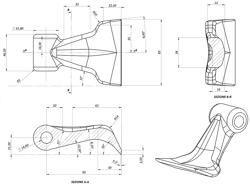 adjustable sideshift flail mower 160cm for 40 70hp tractors shredder mulcher puma 160