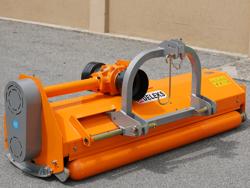mulcher for reversible tractor like carraro bcs medium series 160cm working width mod puma 160 rev