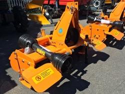 light rotavator tiller for tractors working width 135cm for soil preparation dfl 135