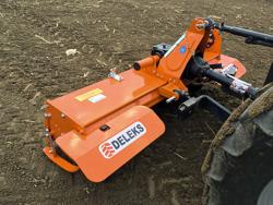 medium heavy rotavator tiller for tractor working width 150cm manuall sideshift mod dfm 150