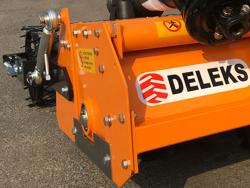 adjustable stone burier for tractors rotary tiller dfu 120