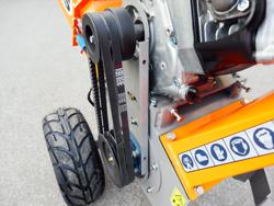 petrol chipper shredder dk 800 lf