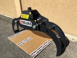 log grapple for mini diggers and forest cranes dk 10