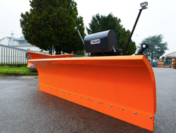 frontal snow plogh with mounting plate for tractor ssh 04 2 2 a