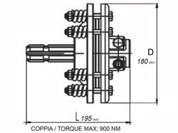 f1 friction torque limiter