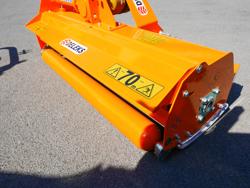flail mower 160cm mulcher shredder with hammers leopard 160
