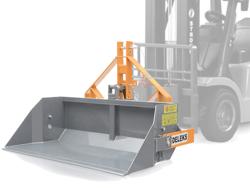 heavy bucket attachment for forklift prm 200 hm