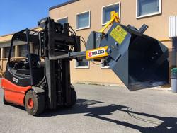 heavy hydraulic bucket attachment for forklift pri 140 hm