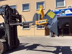 heavy hydraulic bucket attachment for forklift pri 200 hm