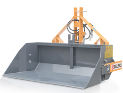 heavy hydraulic transport box for tractor pri 160 h