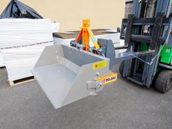 hydraulic bucket attachment for forklift pri 120 lm