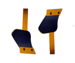 pair of skim coulters