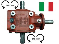 gearbox rebos italia reversible