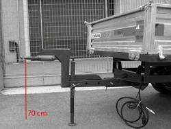 height drawbar 700mm