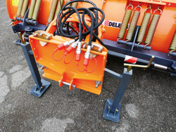snowblade with plate for tractor ln 250 a