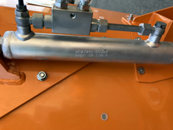 offset verge flail mower for tractor volpe 140