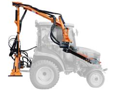 hydraulic hedge bush cutter for tractor falco 160 h