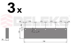 spare rubber blade ssh 04 2 2