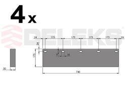 spare rubber blade ssh 04 2 6
