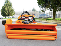 sideshift flail mower heavy offset side mulcher for tractors alce 180