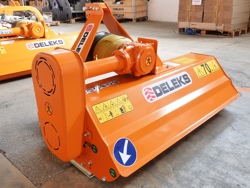mulcher for compact tractors 120cm shredder mower with hammers lince 120