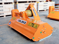 flail mower for compact tractors 140cm mulcher shredder with hammers lince 140