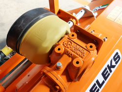 adjustable sideshift mower multipurpose mulcher with hammers lince sp165
