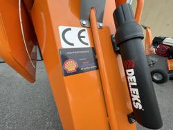 petrol chipper shredder dk 500 lf