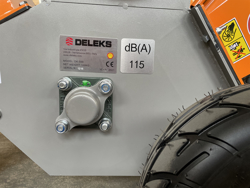 petrol chipper shredder dk 500 yam