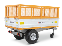 3 way hydraulic tipping trailer for tractor rm 14t3s