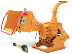hydraulic disk wood chipper for tractor dk 1500