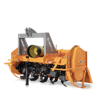 agricultural rotavator tillers heavy series for tractors with 3 point fixed hitch
