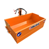 hydraulic tipping transport box bucket for tractors with 3 point linkage