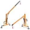 hydraulic cranes and lifting arms for tractors with 3 point hitch