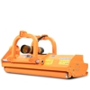 reversible mulcher flail mower with sideshift for agricultural tractor