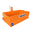 mechanical tipping transportbox bucket for tractors with 3 point linkage